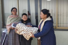 Blanket & Mat Distribution, Jan 29, 2020