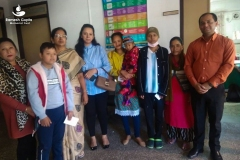 Interaction with children undergoing cancer treatment and their parents,  Nov 17, 2019
